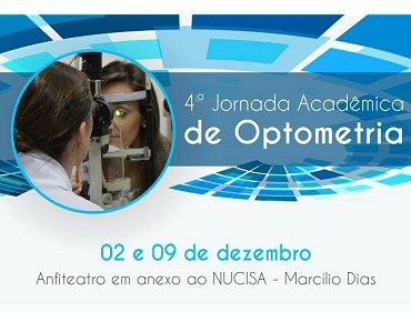b47cf4bc8a5ab Óculos   Cultura · 4º Jornada Acadêmica de Optometria Dias 02 e 09 de  Dezembro em Canoinhas - SC